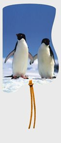 Magnetická záložka Tučňáci