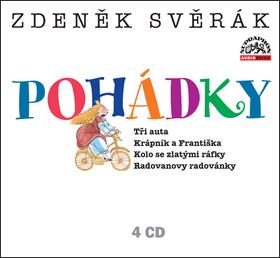 Pohádky 4 CD - Svěrák Zdeněk - 13x14