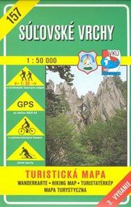 Súľovské vrchy 1:50 000 mapa VKÚ č. 157