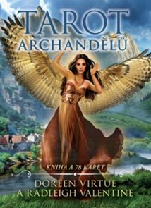 Tarot archandělů - kniha + 78 karet