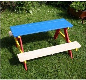 Zahradní piknik stůl Anetta /š. 91×86cm, v. 50 cm/