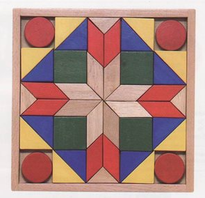 Barevná mozaika, 44 dílů