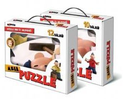 Puzzle Mega DIDACO - PAT a MAT (2 druhy)