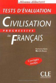 Civilisation Progressive du Francais - Niveau débutant - Testy