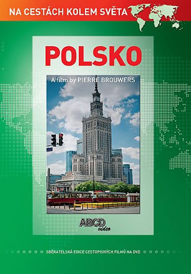 DVD Polsko - turistický videoprůvodce (71 min.) - 13x19 cm