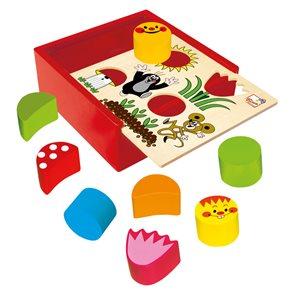 Krabička s tvary, Krtek