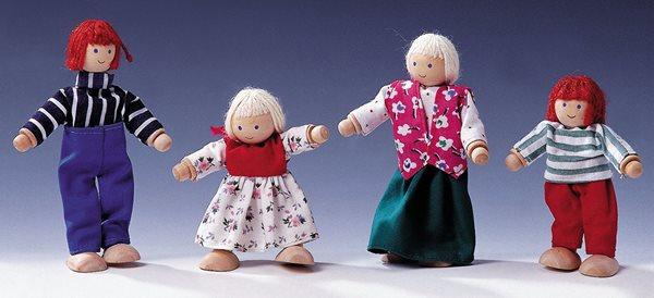 Panenky do domečku - 4 postavičky