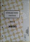 Učitelský notes - hnědý, kroužková vazba