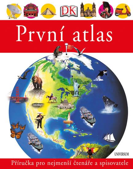 První atlas - Dětský obrázkový atlas zemí celého světa - neuveden - 22x28