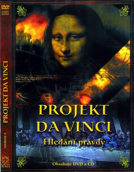Projekt da Vinci - Hledání pravdy DVD + CD (ČJ, AJ, NJ, ŠJ, FJ) - neuveden - 13,5x19