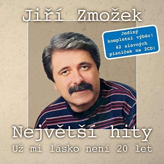 Jiří Zmožek - Největší hity - Už mi lásko není 20 let - 2 CD - neuveden - 12,5x14,2