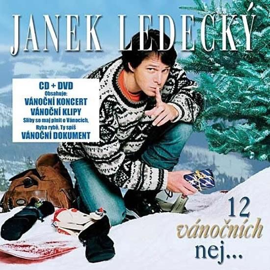 CD 12 Vánočních nej ... - Ledecký Janek - 12,5x14,2