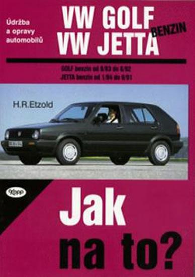 VW Golf II/VW Jetta/benzin - 9/83 - 6/92 - Jak na to? - 5. - Etzold Hans-Rudiger Dr. - 20,5x28,5