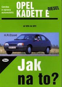 Opel Kadet E diesel - 9/84 - 8/91 - Jak na to? - 8.