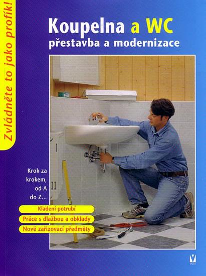Koupelna a WC - přestavba a modernizace - kolektiv - 17x22,5