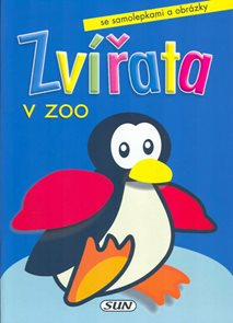 Zvířata v Zoo - tučńák /samolepky/