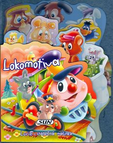 Lokomotiva - Lucie - statčná mašinka