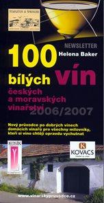 100 bílých vín českých a moravských vinařství