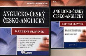 Anglicko-český,česko-anglický kapesní slovník + CD-ROM