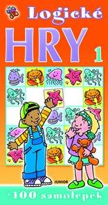 Logické hry 1 - oranžová + 100 samolepek