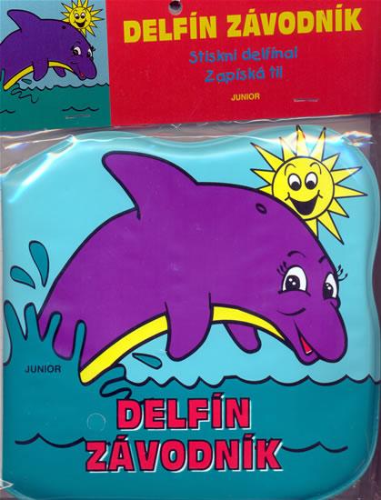 Delfín závodník - kniha do vany - Pospíšilová Zuzana - 14x14