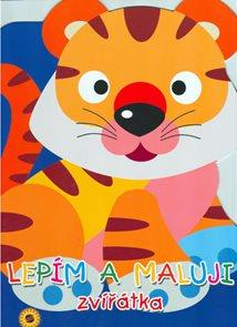 Tygřík - lepím a maluji zvířátka