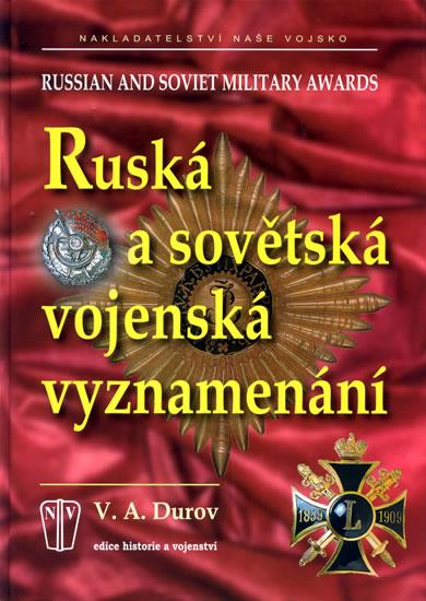 Ruská a sovětská vojenská vyznamenání - Durov V.A. - 21,5x30