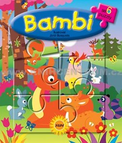 6x puzzle Bambi