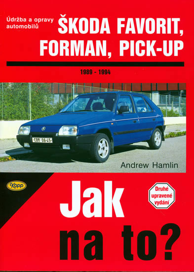 Škoda Favorit, Forman, Pick-up - 1989 - 1994 - Jak na to? - 37. - Hamlin Andrew - 20,5x28,7