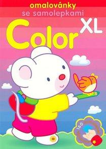 Color XL - omalovánky se samolepkami