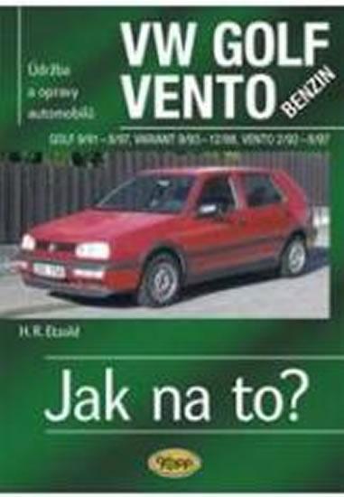 VW Golf III/Vento benzin - 9/91 - 12/98 - Jak na to? - 19. - Etzold Hans-Rudiger Dr. - 20,5x28,5
