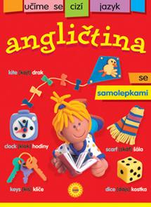 Angličtina - učíme se cizí jazyk se samolepkami