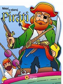 Piráti - nalepuj a vybarvuj