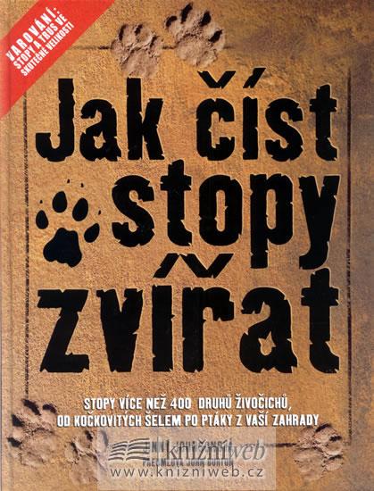 Jak číst stopy zvířat - Johnson Jimmy - 22,1x28,5