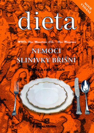 Nemoci slinivky břišní - Dieta a rady lékaře - Marečková Olga, Mengerová Olga - 14,4x20,5