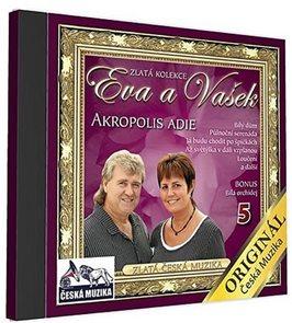 Eva a Vašek - 5 - Akropolis Adie - 1 CD