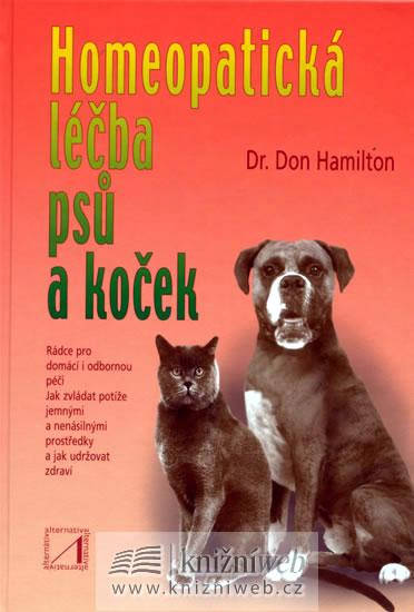Homeopatická léčba psů a koček - Hamilton Don Dr. - 14,8x21