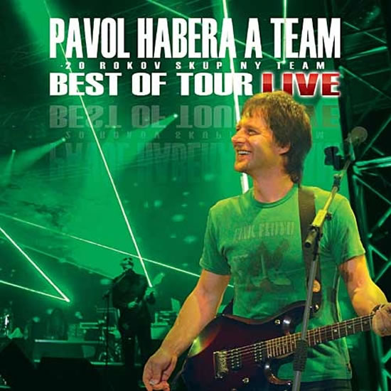 Pavol Habera a Team - Best Of Tour Live - CD - neuveden - 12,5x14,2