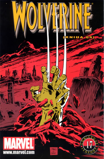 Wolverine (Kniha 05) - Comicsové legendy 17 - Hama Larry, Silvestri Marc - 16,6x25,2