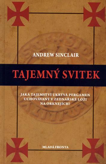 Tajemný svitek - Sinclair Andrew - 13,4x20,5