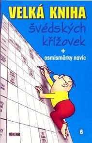 Velká kniha švédských křížovek 6 + osmisměrky navíc