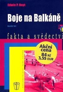 Boje na Balkáně - brož.
