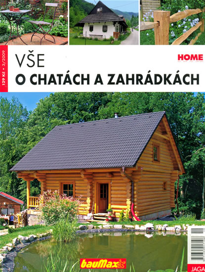 Vše o chatách a zahrádkách - kolektiv autorů - 21x27,4