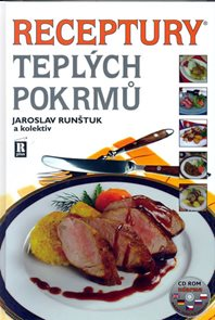Receptury teplých pokrmů + CD - 6. vydání