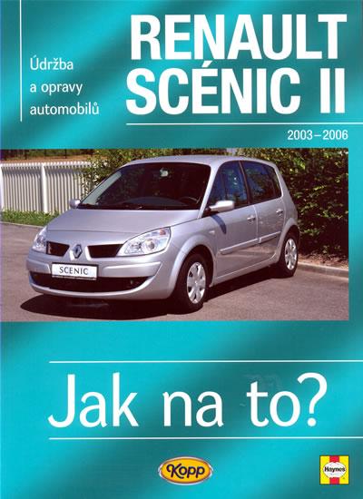 Renault Scénic II - 2003 - 2009 - Jak na to? - 104. - neuveden - 20,5x28,7