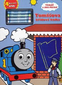 Tomášova křídová kniha - Tomáš a jeho přátelé + 4 barevné křídy