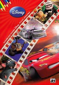Disney filmy - Omalovánky A4