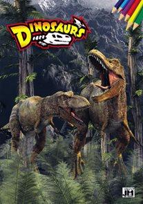Dinosaurs - Omalovánky A4