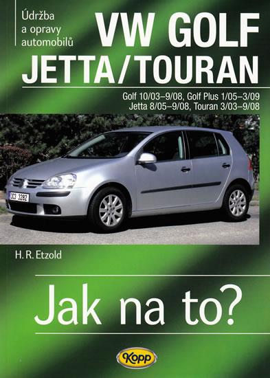 VW Golf V/Jetta/Touran - 2003-2008 - Jak na to? - 111. - Etzold Hans-Rudiger Dr. - 20,7x28,6