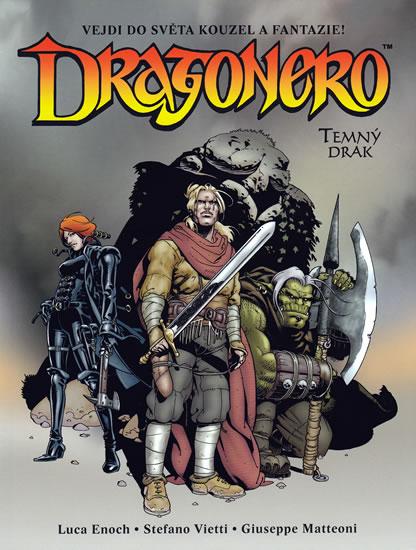Dragonero - Enoch a kolektiv Luca - 16,2x21